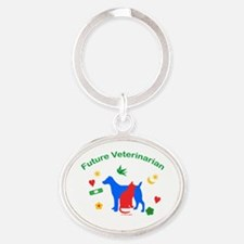 Future Veterinarian Keychains