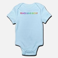 Peace Love Kathy Body Suit