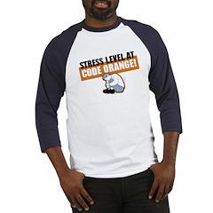 STRESS LEVEL at code orange! Baseball Jersey