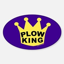 Cute Plow king Decal