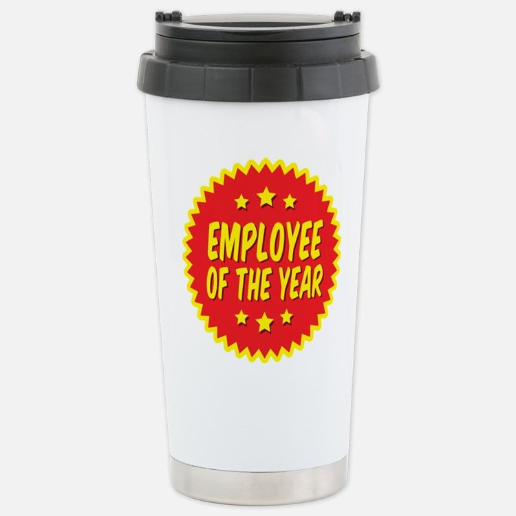 Cute Employee year Travel Mug