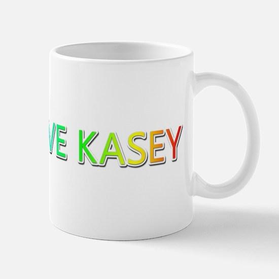 Peace Love Kasey Mugs