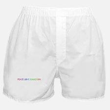Peace Love Kameron Boxer Shorts