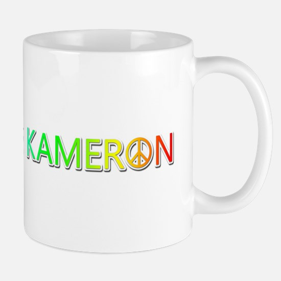 Peace Love Kameron Mugs
