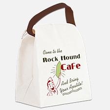 rockhoundcafe.png Canvas Lunch Bag