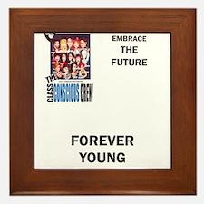 Unique Forever young Framed Tile