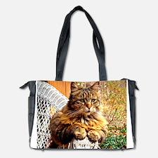 Beautiful Baby-Girl Kitty Diaper Bag