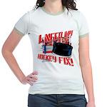 I NEED my HOCKEY FIX  Jr. Ringer T-shirt