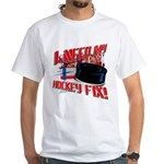 I NEED my HOCKEY FIX White T-Shirt