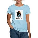 BUFFALO, NY - buffalo with sk Women's Pink T-Shirt