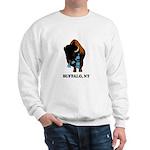 BUFFALO, NY - buffalo with sk Sweatshirt