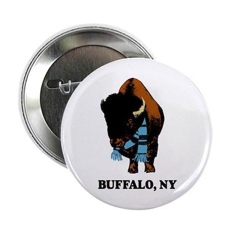BUFFALO, NY - buffalo with sk Button
