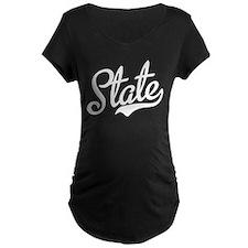 State Script White T-Shirt