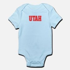 Utah Jersey Red Infant Bodysuit