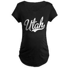 Utah Script White T-Shirt