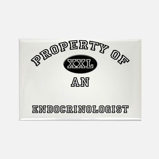 Property of an Endocrinologist Rectangle Magnet