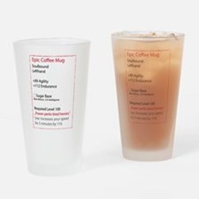 RPG Coffee Mug Drinking Glass