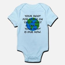 Your rent is caring. Infant Bodysuit