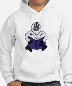 Abominable Snowman Reading Globa Hoodie