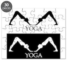 downward facing dog yoga pose Puzzle