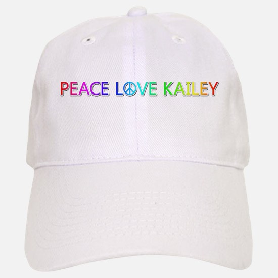 Peace Love Kailey Baseball Baseball Baseball Cap