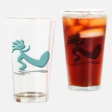 Kokopelli Truckin' Drinking Glass