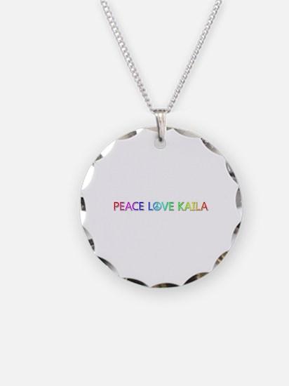Peace Love Kaila Necklace