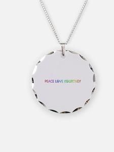 Peace Love Kourtney Necklace