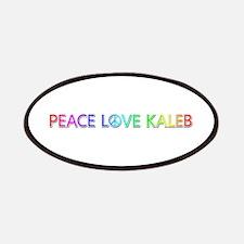 Peace Love Kaleb Patch