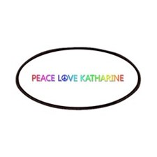 Peace Love Katharine Patch