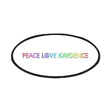 Peace Love Kaydence Patch