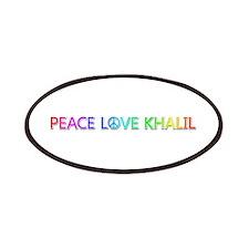 Peace Love Khalil Patch