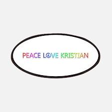 Peace Love Kristian Patch