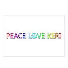 Peace Love Keri Postcards 8 Pack