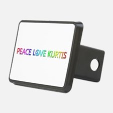 Peace Love Kurtis Hitch Cover