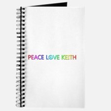 Peace Love Keith Journal