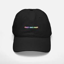 Peace Love Khloe Baseball Hat