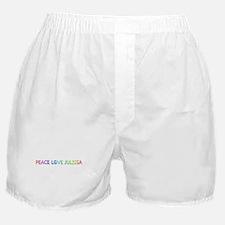 Peace Love Julissa Boxer Shorts