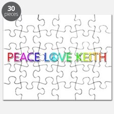 Peace Love Keith Puzzle