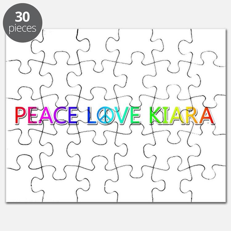 Peace Love Kiara Puzzle