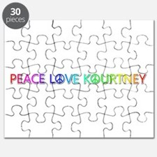 Peace Love Kourtney Puzzle