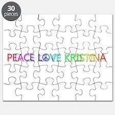 Peace Love Kristina Puzzle