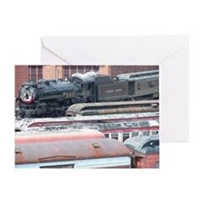 Steamtowm Steam Greeting Card