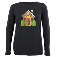 Houses Plus Size Long Sleeve Tee