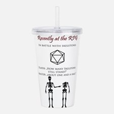 Rechently at the RPG Acrylic Double-wall Tumbler