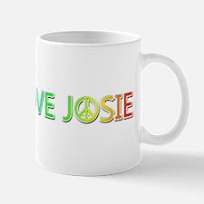 Peace Love Josie Mugs