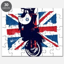 Union Jack Scooter Puzzle