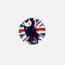 Union Jack Scooter Mini Button