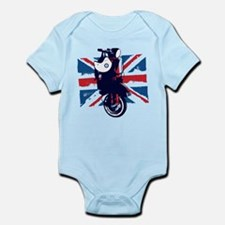 Union Jack Scooter Body Suit
