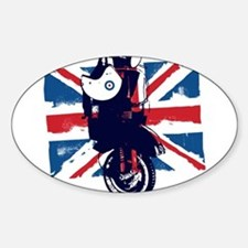 Union Jack Scooter Decal